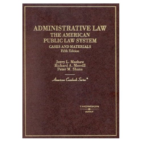 Administrative Law: Administrative